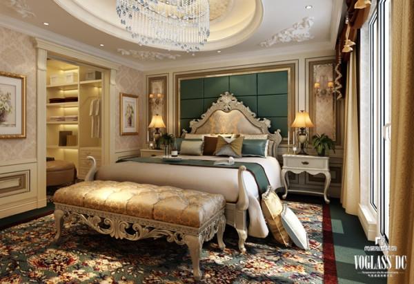金科王府法式风之卧室