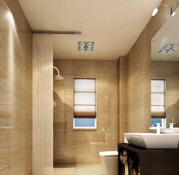 布局合理的卫生间应当有干燥区和非干燥区之分。非干燥区不利于储物,即使是干燥区,卫生纸、毛巾、浴巾等如果长期放置,也一定要用隔湿性好的塑料箱存放,避免受潮