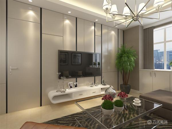 该户户型是雅仕兰亭两室一厅一厨一卫92平米户型。由于整体的户型限制,所以在入户门的右侧设计为餐区空间,摆放餐桌。