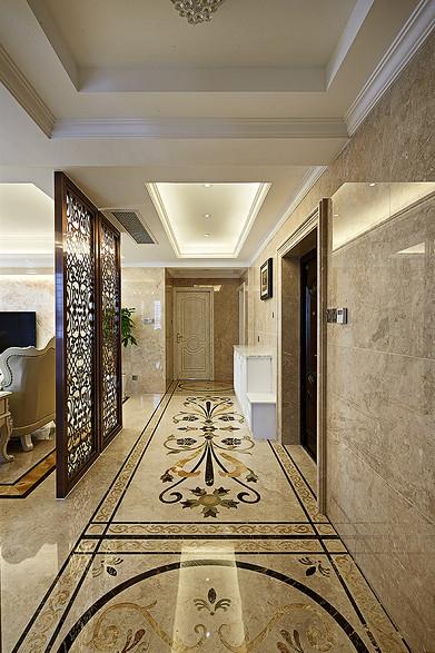 客厅图片来自家装大管家在136平现代简约风 温馨风情家居的分享