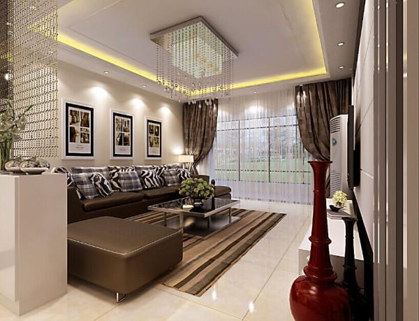 室内整体用的是白色乳胶漆,家具则用的深色,两种颜色的撞色,诺大的落地纱窗,给人整洁舒适,窗明几净的感觉。