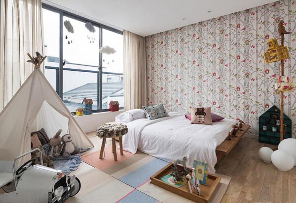 房间安排紧凑,趣味性强满足孩子长大后的生活需求。