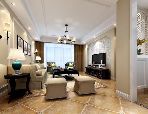 川豪装饰设计师赵刘群在选材上也很注意,多选取了舒适、柔性、温馨的材质组合,可以有效地为业主家建立起一种温情暖意的家庭氛围。