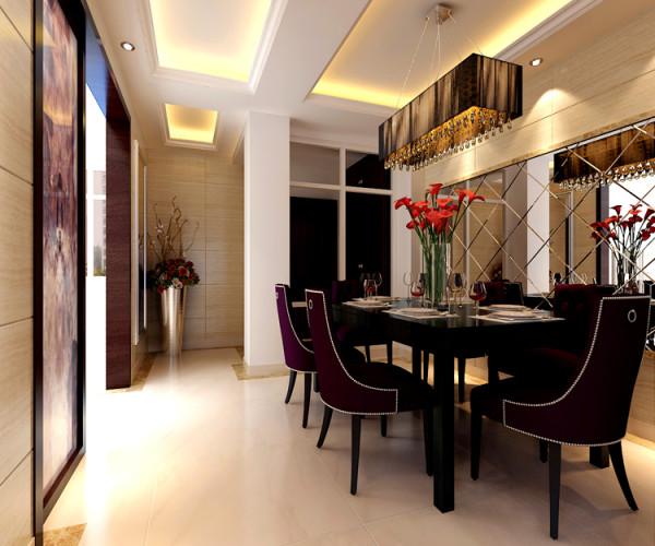 尚东庭210平米户型 餐厅效果图