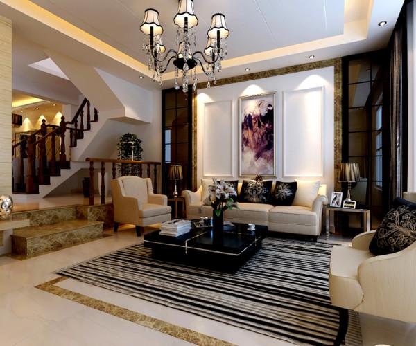 尚东庭210平米户型 客厅效果图