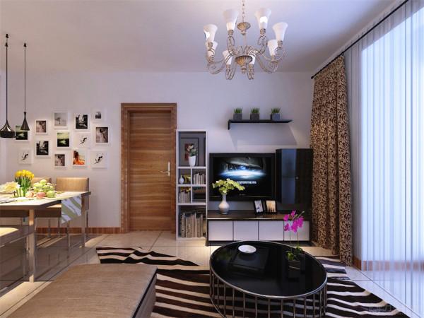 本案为中山八号标准层户型2室2厅1厨1卫73㎡的户型。这次的设计风格定义为现代简约风格。
