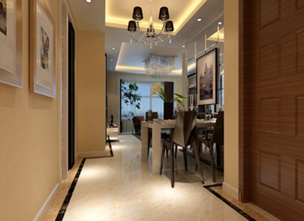设计理念:白色与暖色的基调构成,在空间中借由灯饰、银镜与其他物件,延伸出极强的现代简约的浪漫优雅。