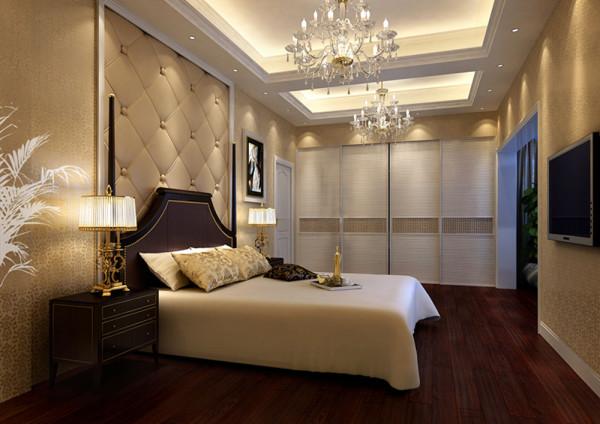 老人房打破了客餐厅的黑白灰为主调的设计风格,白色简约的背景墙,加上浅暖黄色的灯光,让老人感觉非常安静,沉稳,可以让人有很好休息、睡眠。