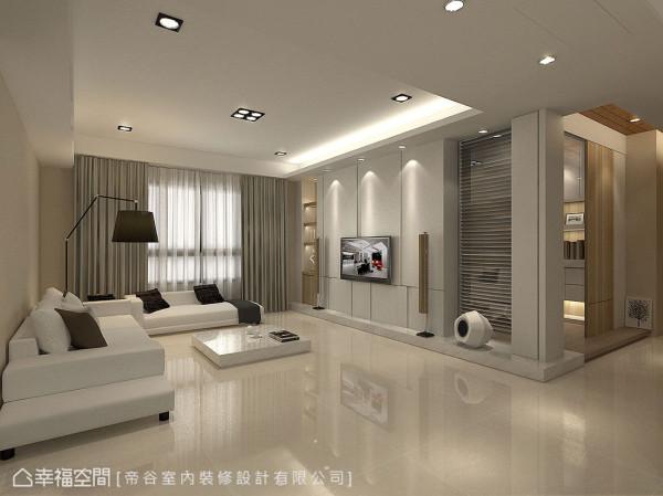 屋主讲究每一厘米的尺寸比例,经过与设计师无数次的讨论与改图才成就完美宅邸。 (此为3D合成示意图)