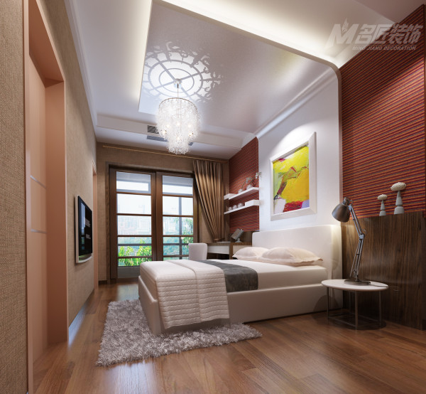 设计师力求营造一个温馨舒适的居家环境,抽离过多的繁复雕饰,简约而不简单