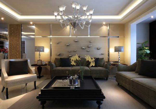 百家现代风格客厅