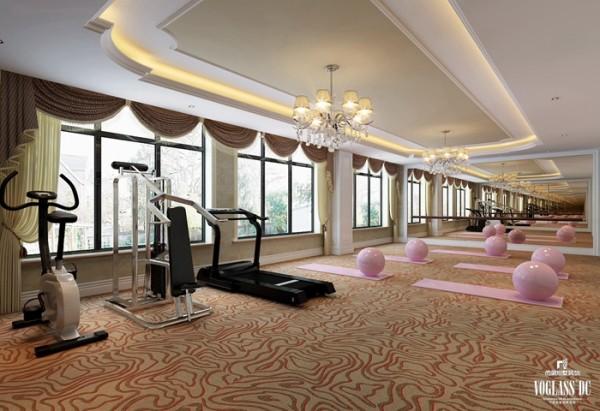瑜伽健身房
