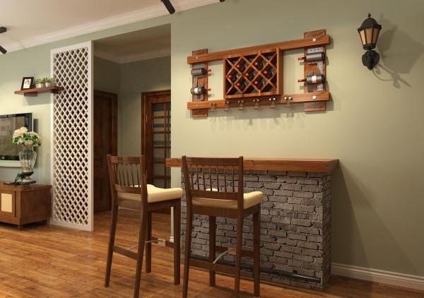 美式复古酒吧台