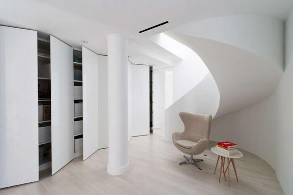 楼梯+休闲区