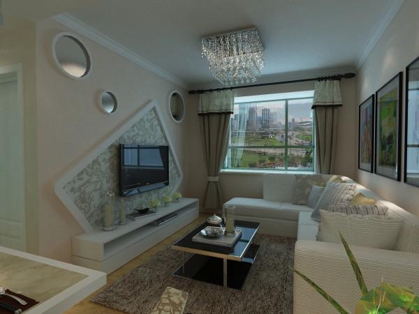 美寓天成简约·田园风格电视背景墙设计
