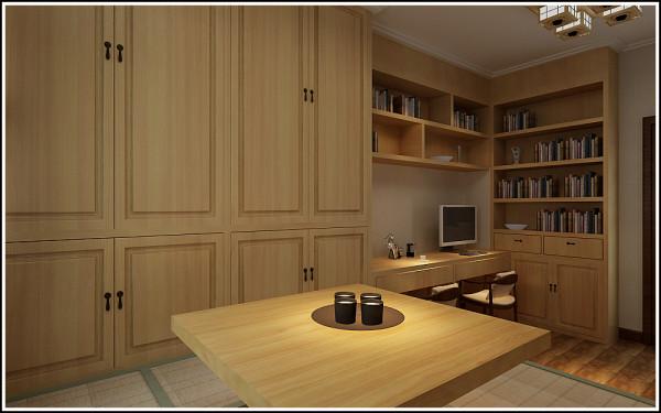 榻榻米与书房的结合