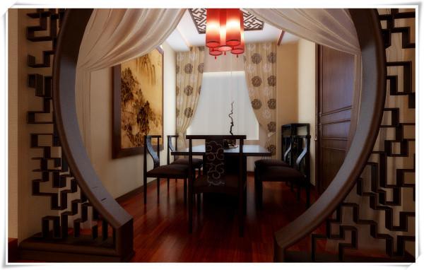 中式风格的室内设计,它融合了庄重与优雅的双重特质,形成了自己独有的风格和韵味,一幅中国画,一个花尊,都是有设计师的精心布置在里。它不仅需要设计师有良好的文化底蕴,更要有一定的生活阅历和理解。