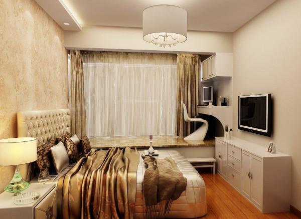 墙面以暖色调装修彰显温馨