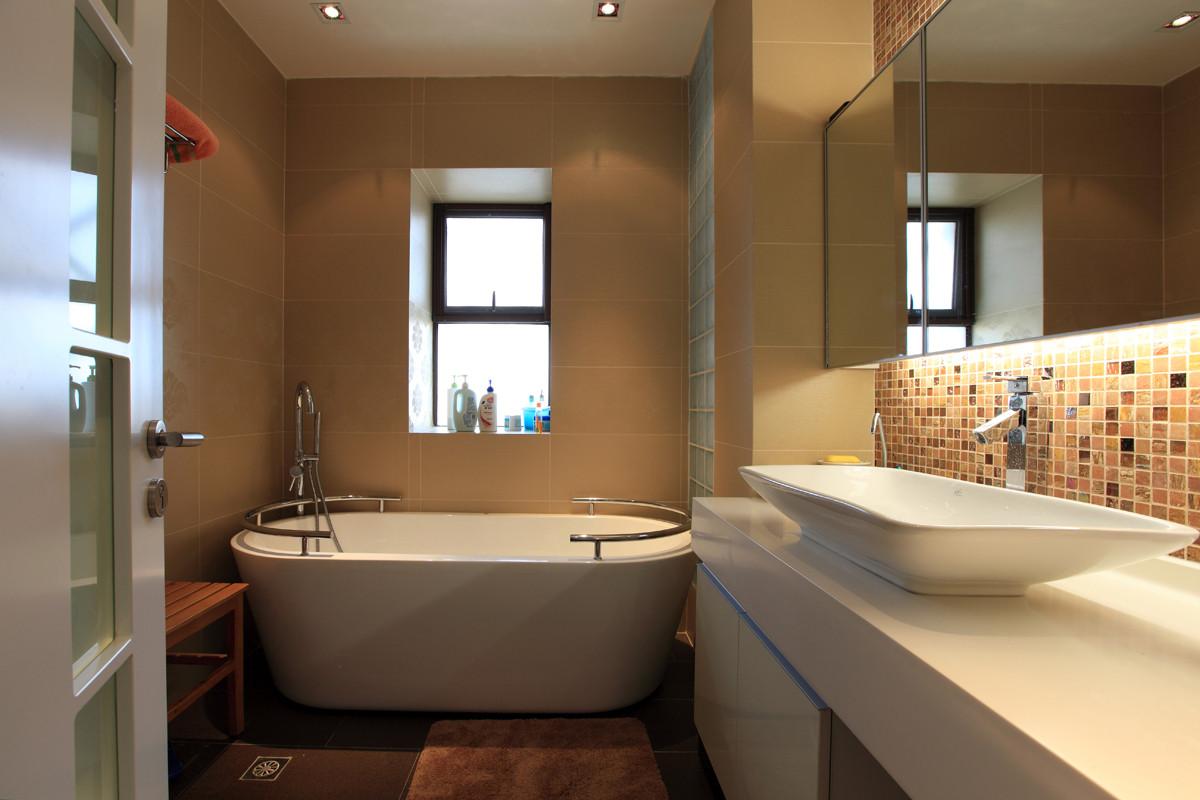 卫生间浴盆设计图片