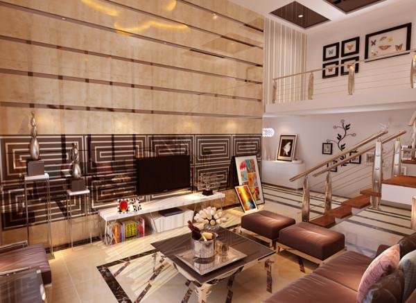 设计理念:现代设计追求的是空间的实用性和灵活性。居室空间是根据相互间的功能关系组合而成的,而且功能空间相互渗透,空间的利用率达到最高。
