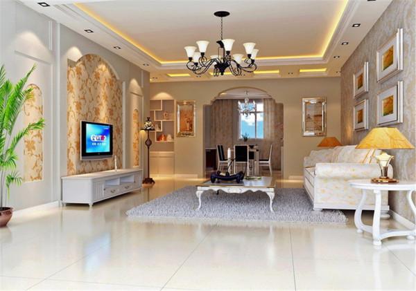 本案为中铁国际小区户型,套内建筑面积101平米。欧式的居室有的不只是豪华大气,更多的是惬意和浪漫。