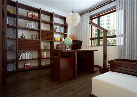 书房:几乎所有的家居设计中,都未跳过书房这一环节。一方面,固然是因为读书是人类所共有的一种跨越了种族与边界、时间与空间的生活习惯或嗜好。