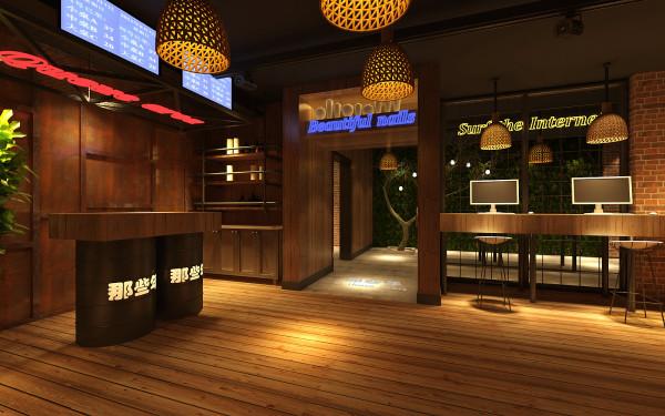 上海赫筑经典餐饮设计案例图