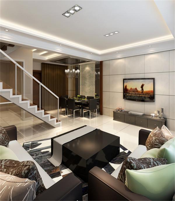 上海松江绿地蔷薇九里复式户型装修现代风格设计方案展示,上海聚通装潢最新设计案例展示,欢迎品鉴!
