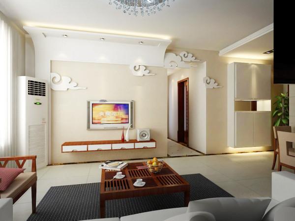 设计理念:装饰要素:金属材料、玻璃+色彩+线条简洁的家具、简洁大方的装饰造型、时尚的软装饰。