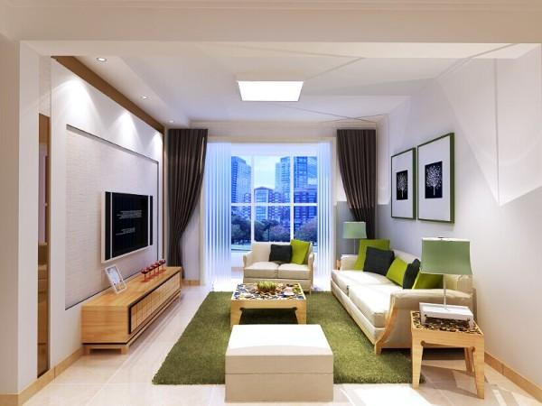 亮点:设计师在设计中将这些特点表现的恰到好处。简洁,白净的吊顶以及墙面。家居装饰主要以原木和布艺为主。简单大方,干净整洁,也体现了主人对于生活返璞归真的追求。