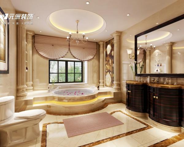 整体浴室,奢华大气