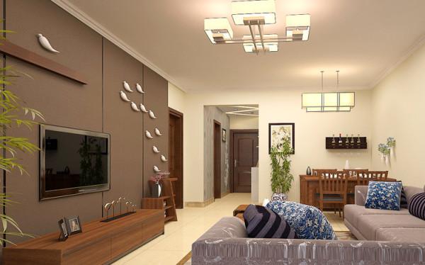 设计理念:开放式的结构布局让我们的视线可以舒适地游走,明朗的色彩消除了空间与人的距离感,显得亲和力十足!空间以鲜亮的浅黄色为主打,在搭配上深色稳重的家具。