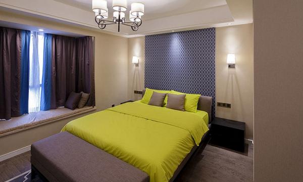 成都第壹家园装饰设计卧室效果图
