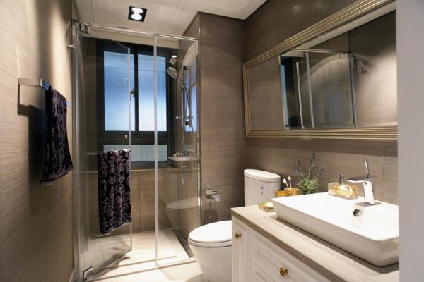 第壹家园装饰设计卫生间效果图
