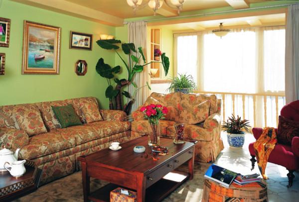 第壹家园装饰设计客厅效果图