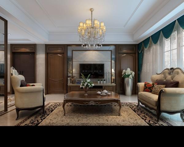 欧式的居室有的不只是豪华大气,更多的是惬意和浪漫。通过完美的典线,精益求精的细节处理,带给家人数不尽的舒服触感。