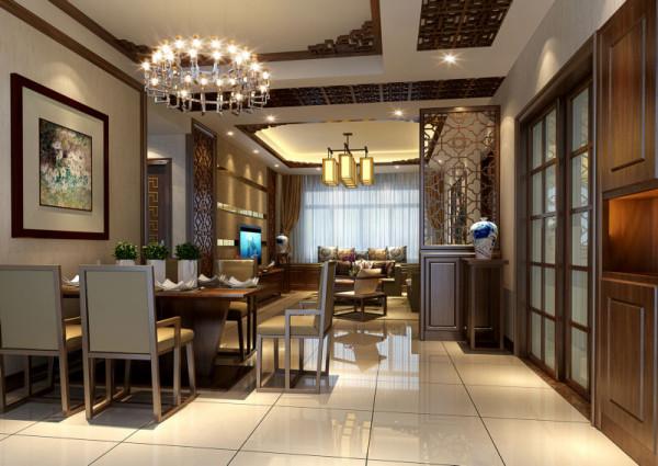 光华逸家 110平米 现代中式 三室