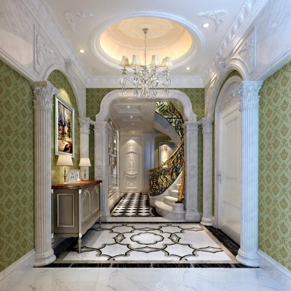 雅居乐花园 330平米 法式风格 别墅