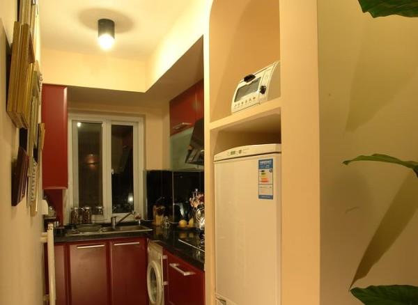 厨房收纳功能非常好