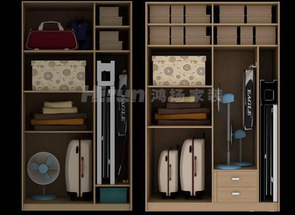 根据不同物品的尺寸,合理布局储物柜,你做到了吗?