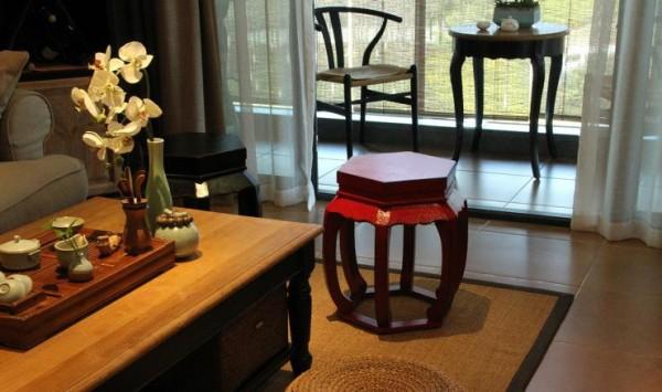客厅小家具细节