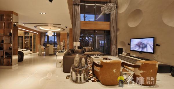 新古典别墅客厅