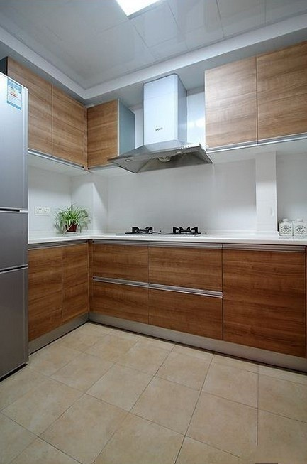 厨房橱柜特写