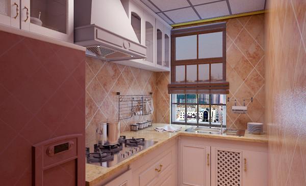 厨房设计: 厨房的厨柜选用实创自有的木作品牌巴赫曼,进口板材和量身定做的工艺,带来的是一种清新、唯美的生活情调,一种舒适、惬意之感,会让我们瞬间爱上这样单纯美好的时光