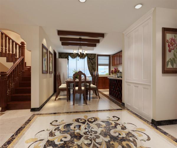 美式风格的装修设计一向以奢华气派为主,柔美与温馨并集。