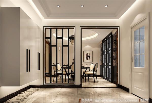 中信城门厅细节效果图-成都高度国际装饰