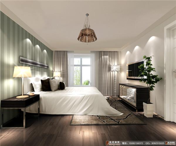 中环岛客厅卧室效果图----成都高度国际装饰