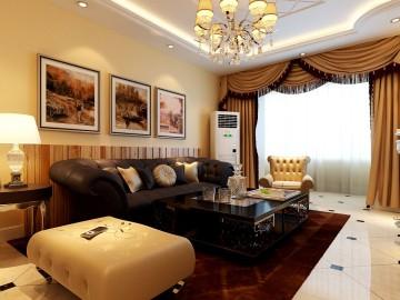 宏福苑小区2居室欧式风格
