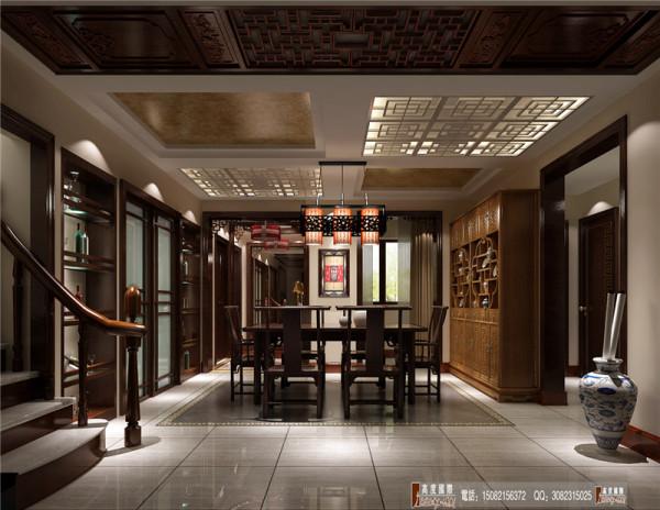 中环岛餐厅细节效果图------成都高度国际装饰