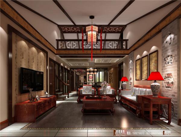 中环岛客厅细节效果图------成都高度国际装饰